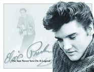 Blechschild Elvis Presley The Sun