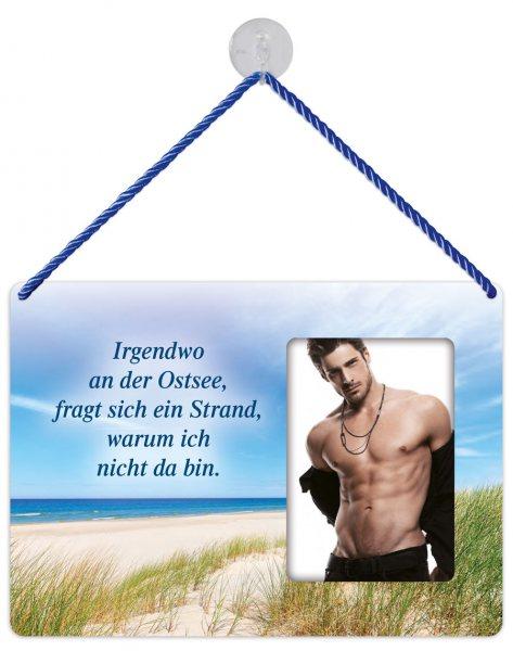 Kult-Rahmen Blechschild Ostsee KR021