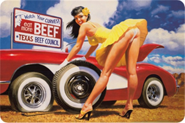 Beef Pinup