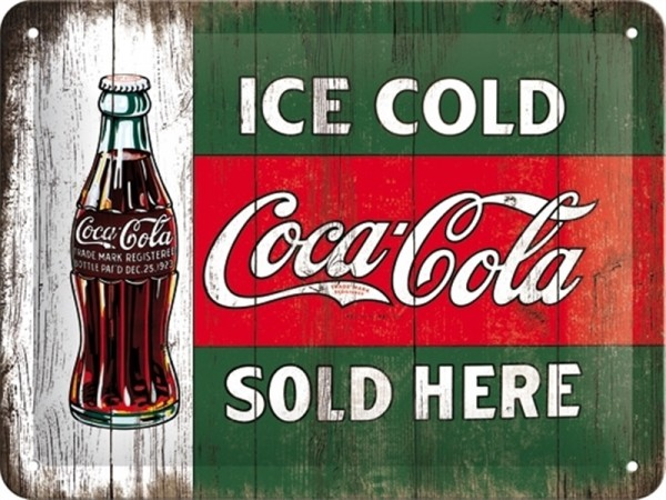 Coca Cola Ice Cold Sold Here