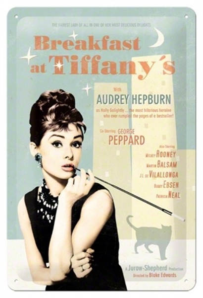 Audrey Hepburn Breakfast at Tiffany`s