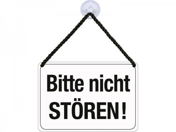 Kulthänger Blechschild Bitte nicht stören! KH030