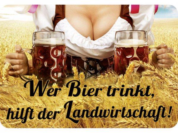 Kulthänger Wer Bier trinkt hilft der Landwirtschaft