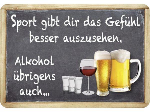 Kulthänger Sport und Alkohol