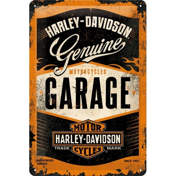 Harley Davidson Garage Genuine