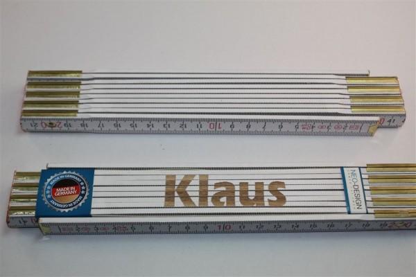 Zollstock Klaus