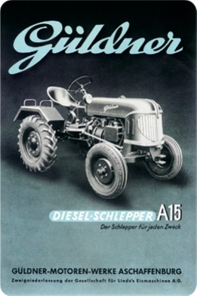 Güldner Diesel-Schlepper A15