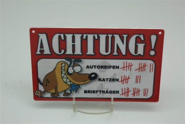 Hund Briefträger/Autoreifen/Katze