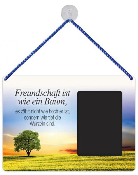 Kult-Rahmen Blechschild Baum Freundschaft KR041