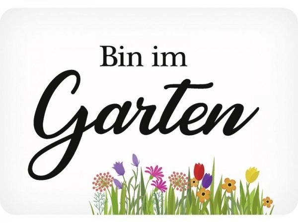 Kulthänger Bin im Garten