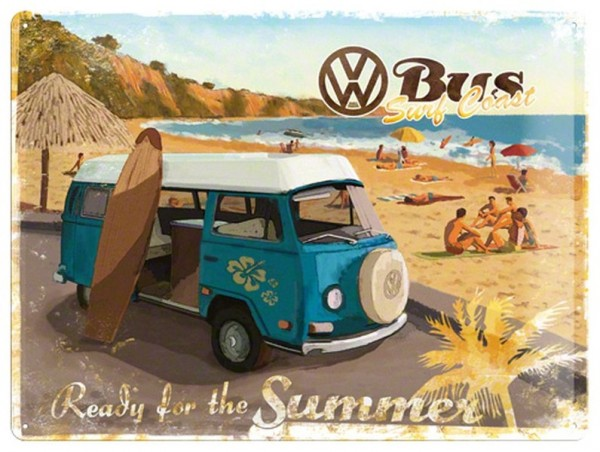 VW Bus Ready for Summer