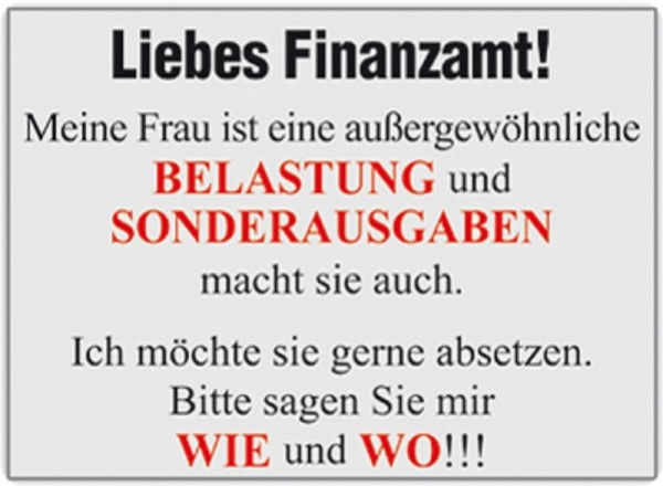 Liebes Finanzamt