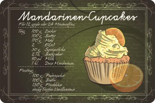 Rezept Mandarinen-Cupcake