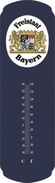 Freistaat Bayern blau Thermometer
