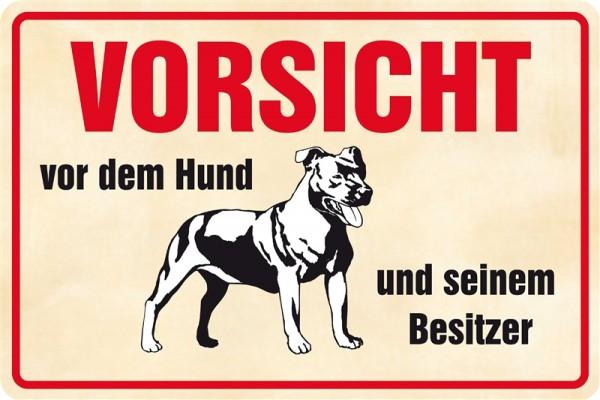 Vorsicht Hund und Besitzer