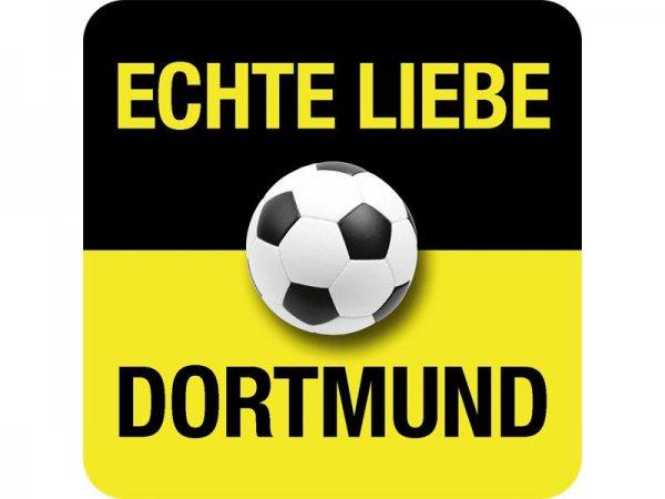 Untersetzer Echte Liebe Dortmund Kultdeckel D05