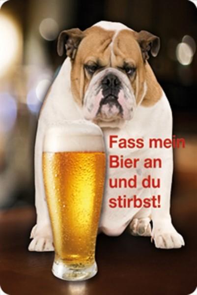 Fass mein Bier an und du stirbst!