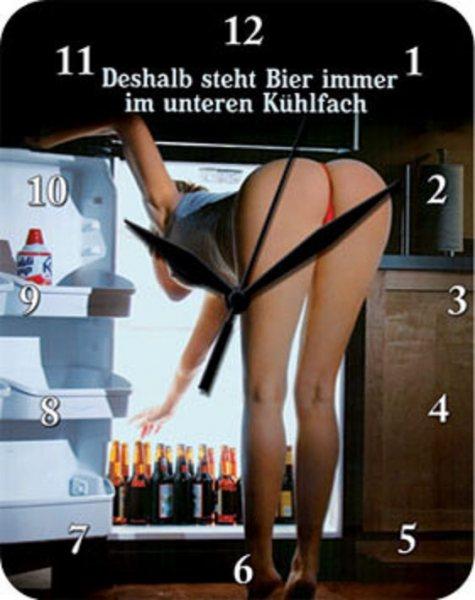 Uhr Deshalb steht Bier