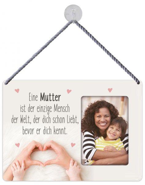 Kult-Rahmen Blechschild Mutter liebt KR006