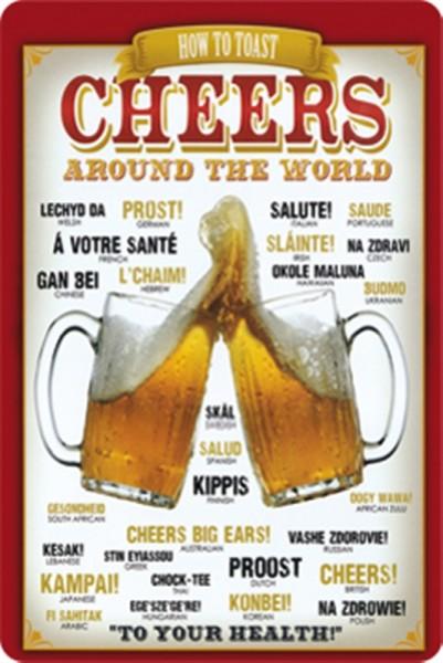 How to toast cheers around the world