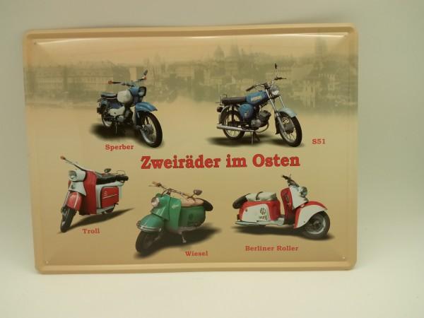 """DDR Simson 5er Collage """"Zweiräder im Osten"""""""