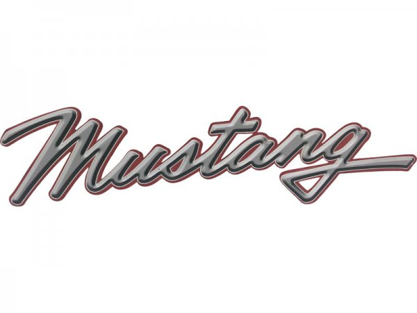 Mustang Schriftzug Ford9