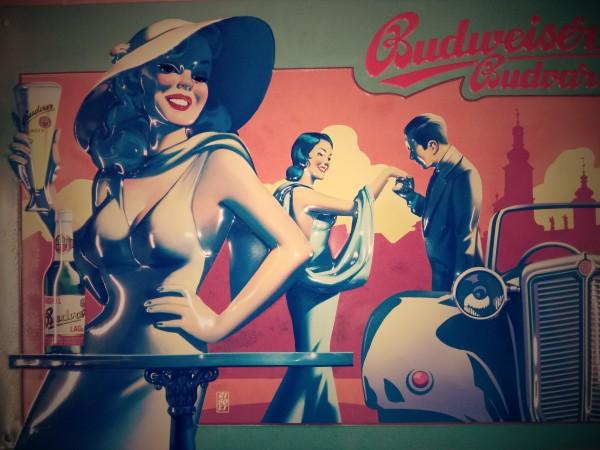 Budweiser Handkuss Cabriolet
