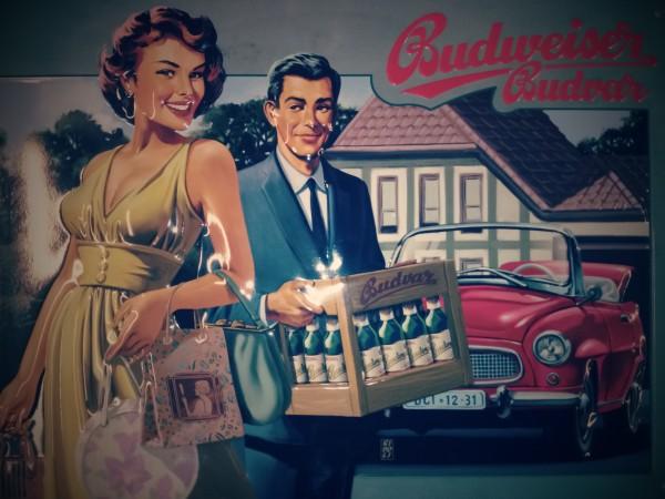 Budweiser Kiste Bier