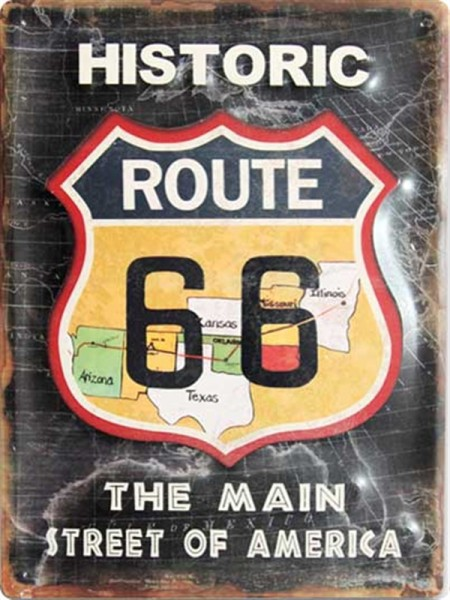 Historic Route 66 Street of America