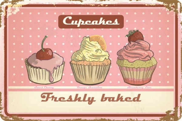 Cupcakes Freshly baked