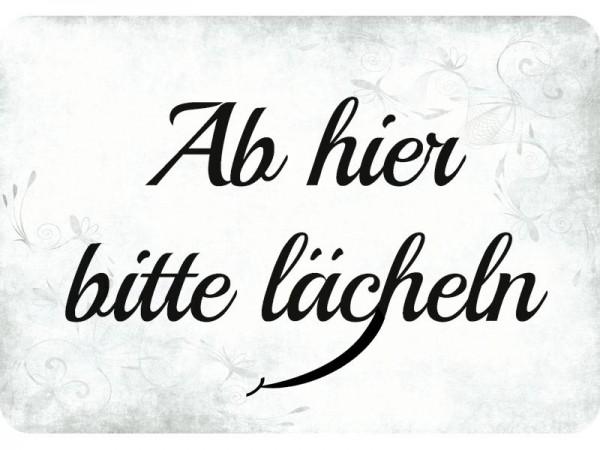 Kulthänger Abhier bitte lächeln