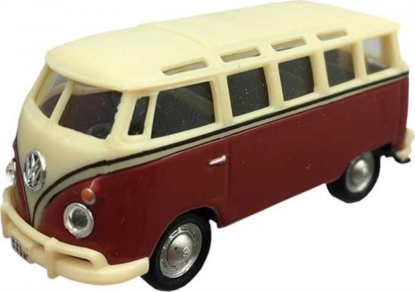 Bus Samba Rot-Beige