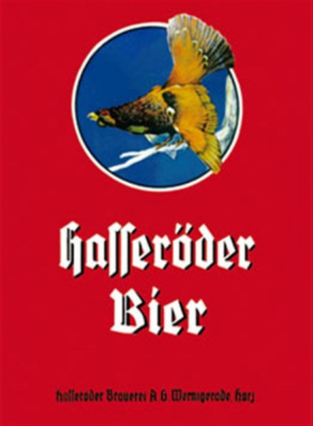 Hasseröder Bier rot