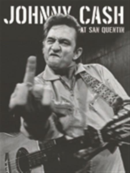 Johnny Cash Mittelfinger