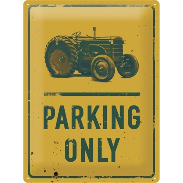 Trecker Parking Only