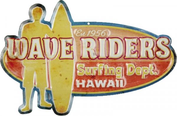 Surfing Hawaii Wave Riders