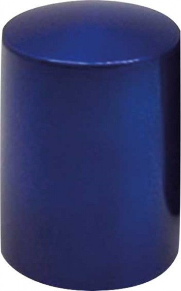 Flaschenöffner Push-Up Blau Metallic