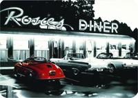 Blechschild Rosies Diner