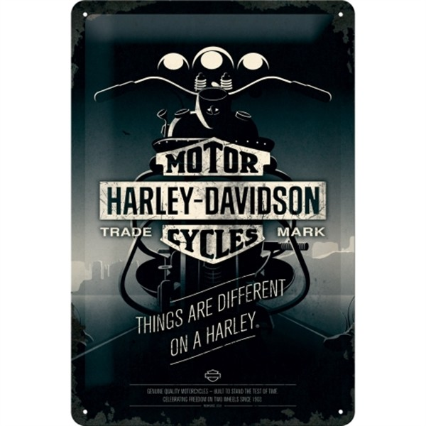 Harley Davidson Things are different