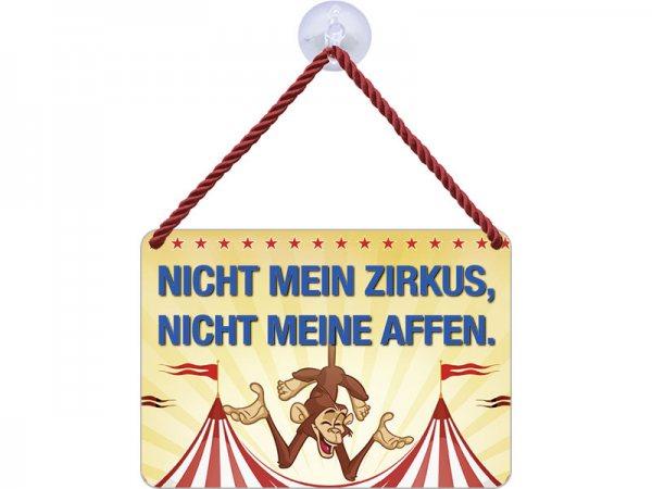 Kulthänger Blechschild Mein Zirkus KH116