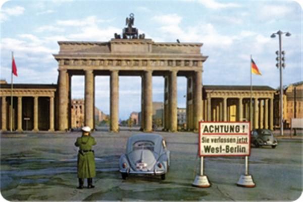 Brandenburger Tor DDR Grenze Berlin