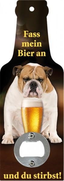 Fass mein Bier an und du stirbst