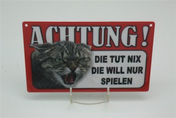 Katze Die tut nix, die will nur spielen