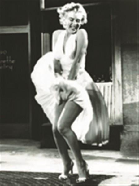 Marilyn Monroe Luftschacht