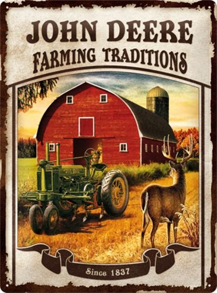 John Deere Farming Traditions Scheune