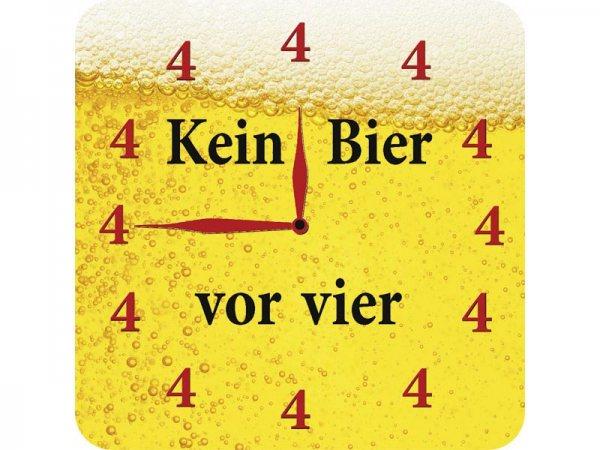 Untersetzer Kein Bier vor vier Kultdeckel D01