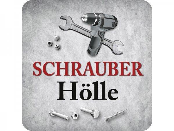 Untersetzer Schrauber Hölle Kultdeckel D10