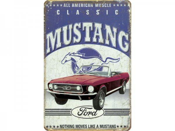 Blechschild Ford Mustang Classic 300/487