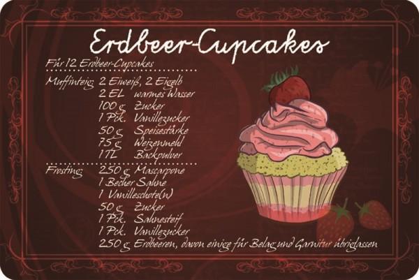 Rezept Erdbeer-Cupcakes