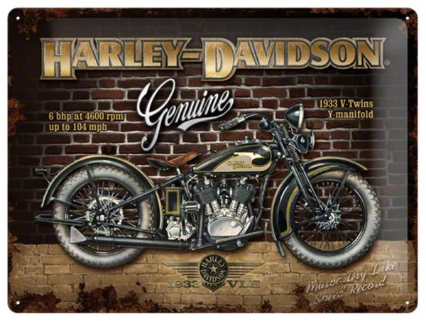 Harley Davidson Genuine Bike Profil